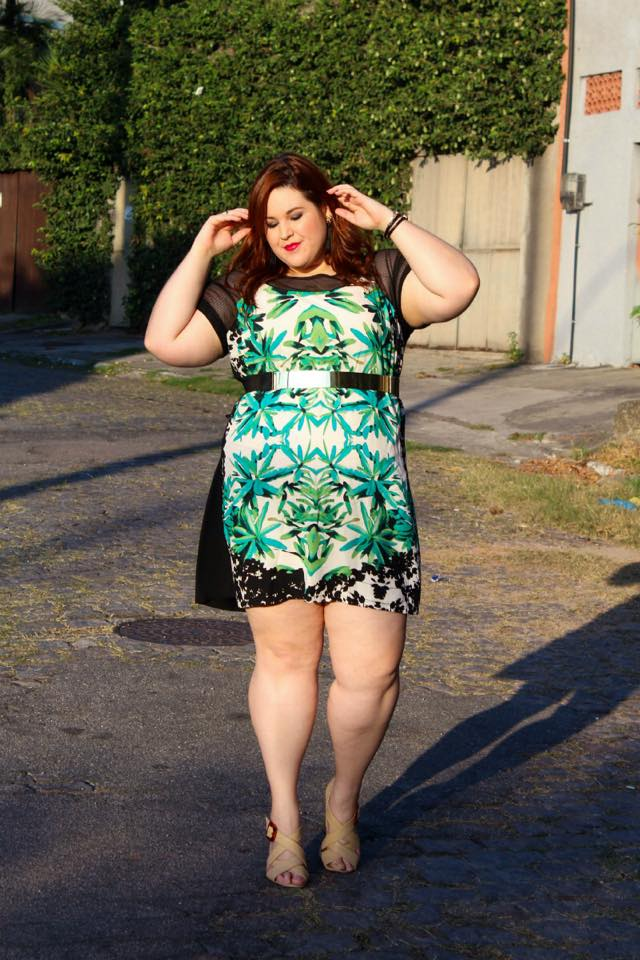 Juliana, do Blog Hoje Vou Assim Plus Size