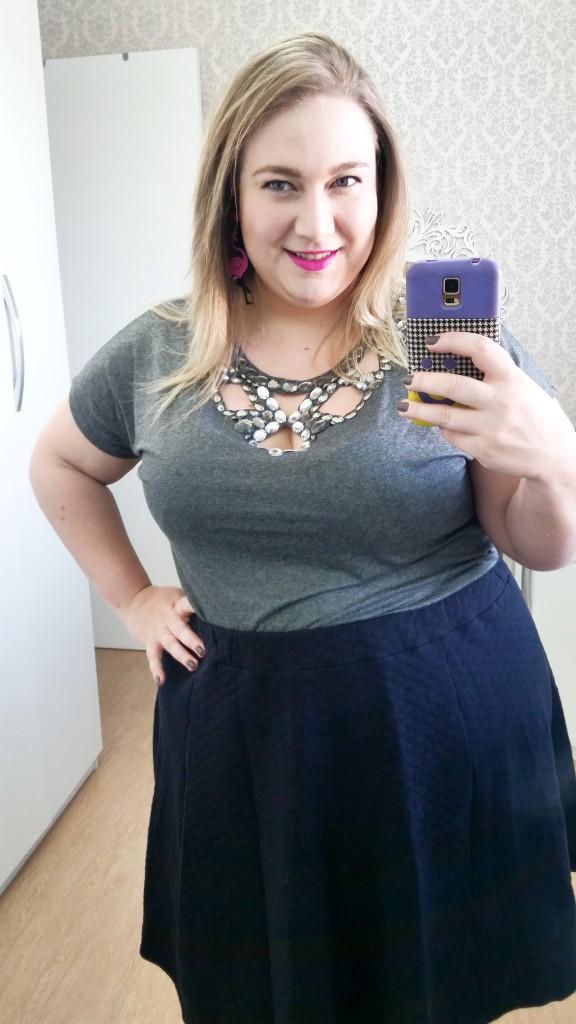Essa lindeza eu já mostrei pra vocês no Instagram e na Fanpage! Blusinha bordada a mão da Coisas di Tacy!