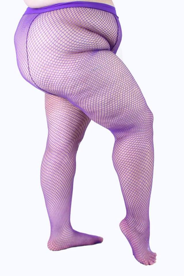 Meia-calça para complementar as fantasias. Essa é do Clube da Meia-Calça