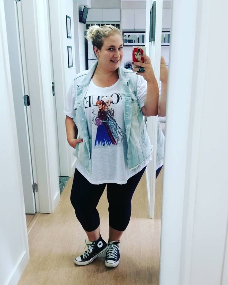 look casual plus size t shirt blog lady fofa