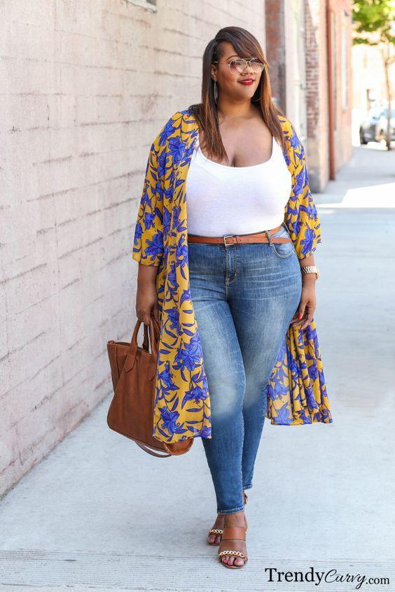 Por que não usar com jeans? Esse look ficou incrível! Fonte: Pinterest