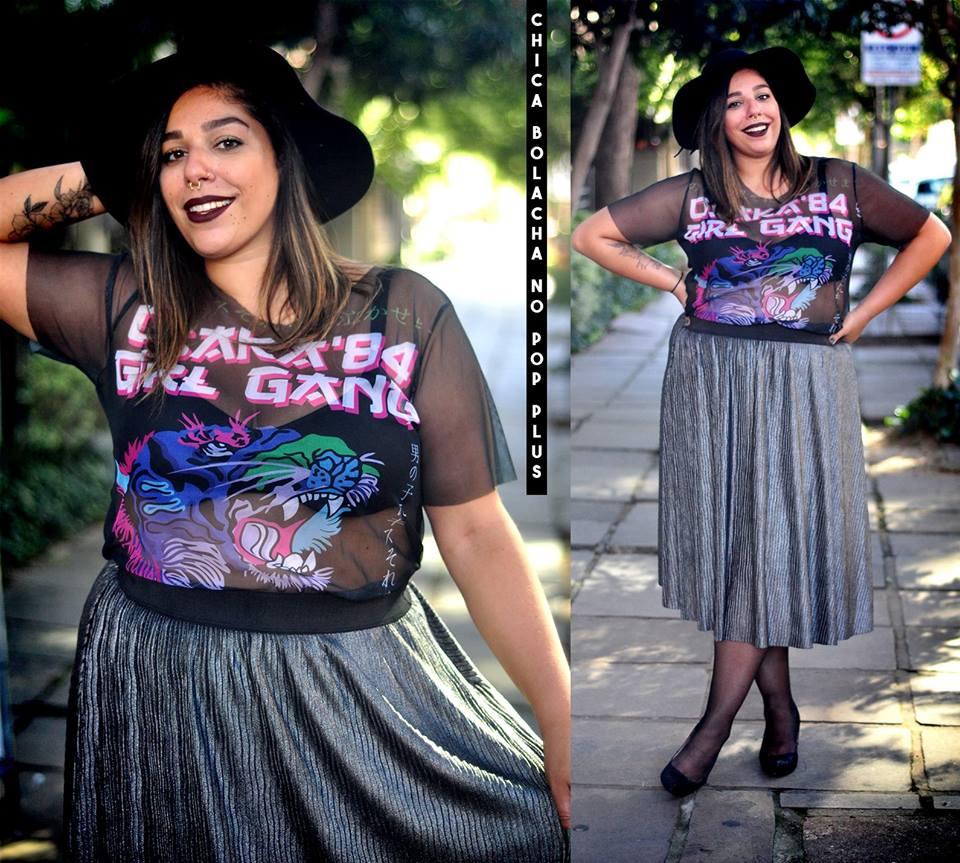Blusinha de tule da Chica Bolacha