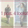 1 post, 4 looks para inspirar: saia lápis, vestido tubinho, cropped e body!